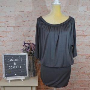 Rachel Pally NEW NWT Tabatha Dress Gray Pebble C3